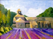Lavender Fields at Abbaye Senaque