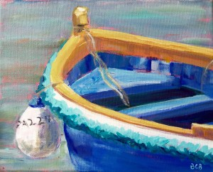 Maltese Fishing Boat 8 x 10