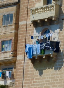 Laundry in Malta