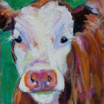 Cow Paintings and Animal Art-take it from me..